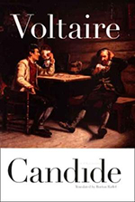 a focus on the main character candide in voltaires book candide Candide physical journey throughout candide by voltaire, the main character, candide, introduced at the beginning of the novel as a young innocent naïve man, goes through many journeys along the way maturing him as a whole two out of three guides, pangloss and martin, taught him very important philosophies about life, questioning candide, if.