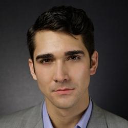 a closeup photo of Brent Michael Smith