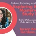 Exploring Modern Masterworks Study Day