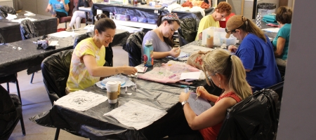 Marlu Allan & Scott Stallard Costume Shop Masterclasses- Intro to Burnout Velvet Fabric