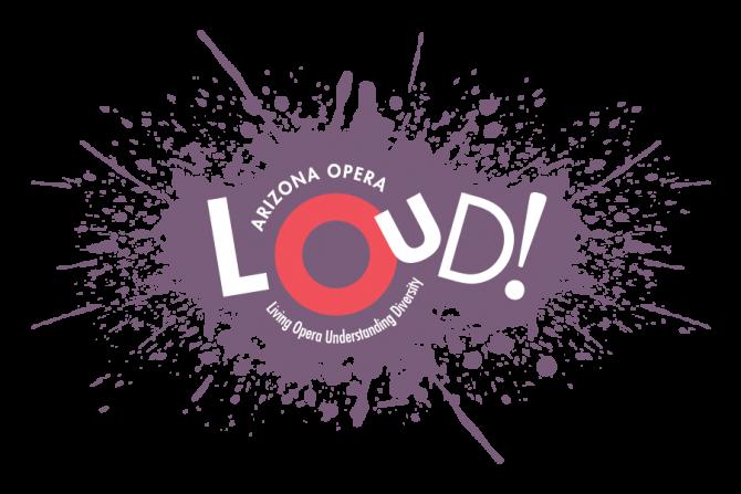 LOUD! (Living Opera, Understanding Diversity) Logo