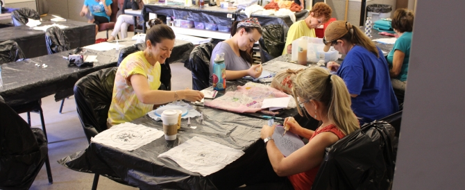 Marlu Allan & Scott Stallard Costume Shop Masterclasses- Intro to Watercolor Painting