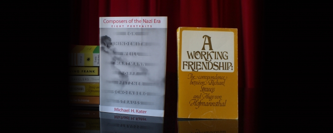 Opera Book Club: A Working Friendship and Composers of the Nazi Era