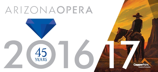 Arizona Opera's 45th Anniversary Season
