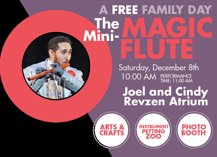 The Mini-Magic Flute Family Day at Arizona Opera