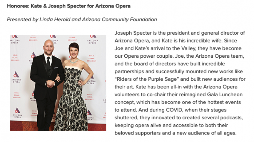 ICYMI: Community Champion Awards Presented at the Society of Chairs Gala (Part 2)