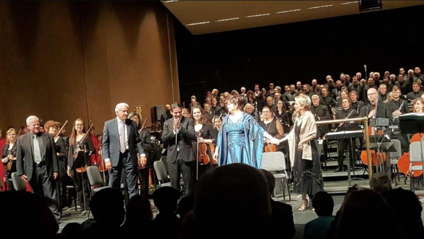 "Jose Luis Gomez led Leonard Bernstein - Symphony No.3 ""Kaddish"""