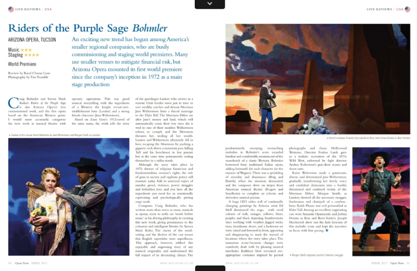Riders of the Purple Sage Review