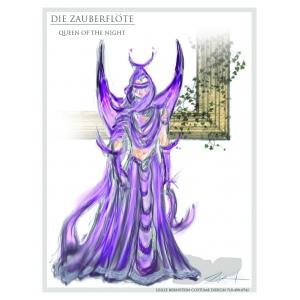 Queen of the Night Color Sketch