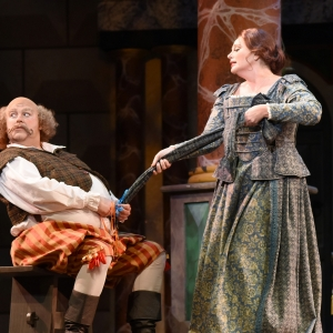 Arizona Opera Falstaff Production Photos